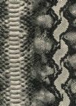 Leatheritz Wallpaper Python 16-Liquorice By Wemyss Covers Wallcoverings